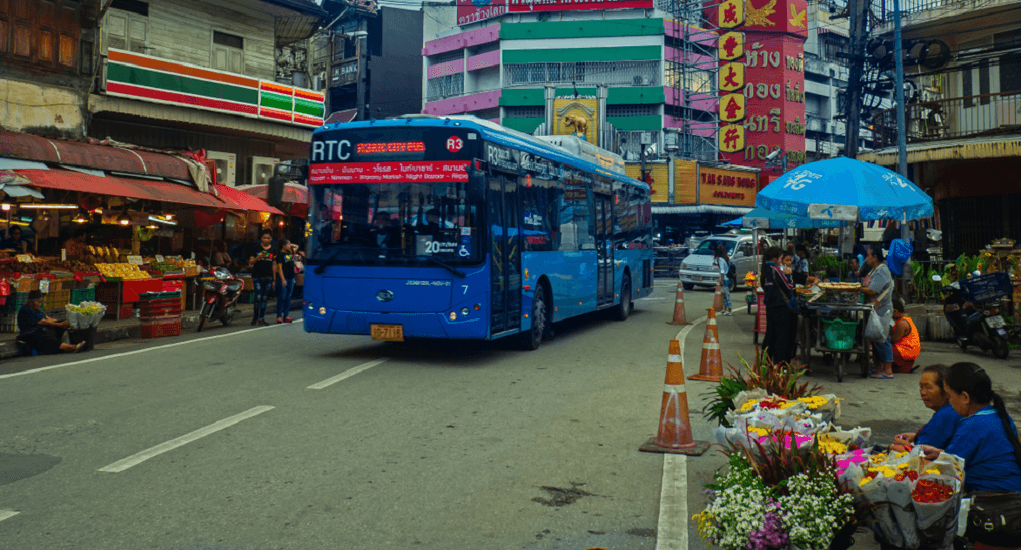 Chiang Mai Airport - The Bus