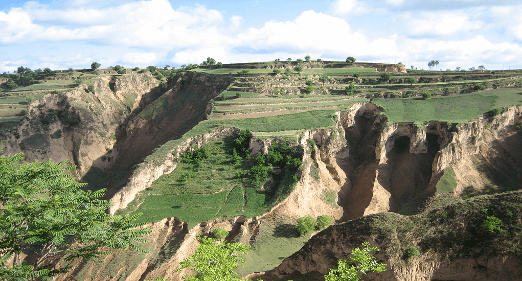 Visit Loess Plateau in China