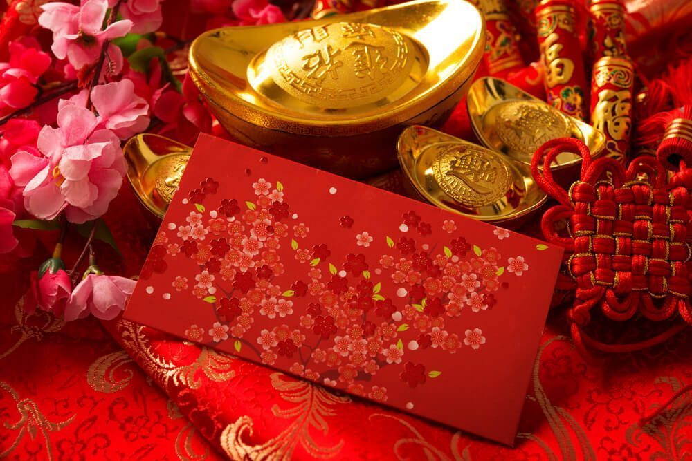 Chinese people celebrates the Lunar New Year