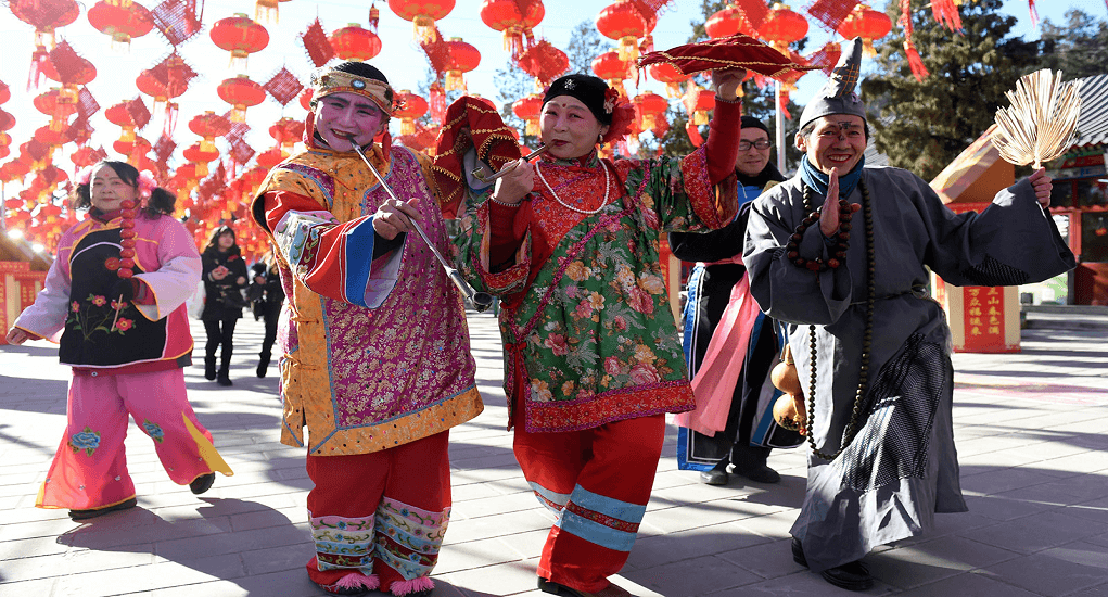 Chinese New Year - Dongyue Temple Fair di Beijing