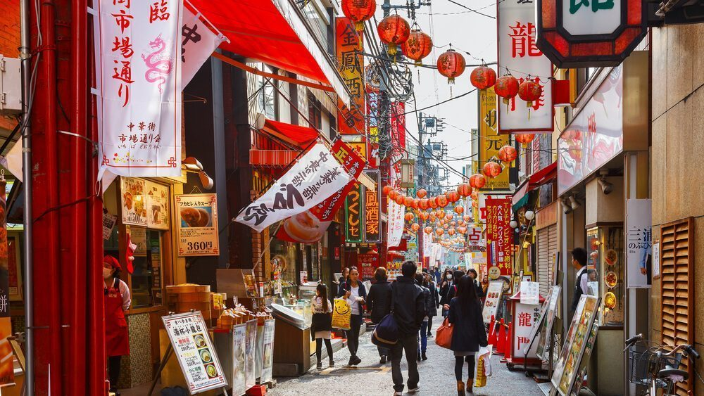 Chinese New Year in Chinatown Japan