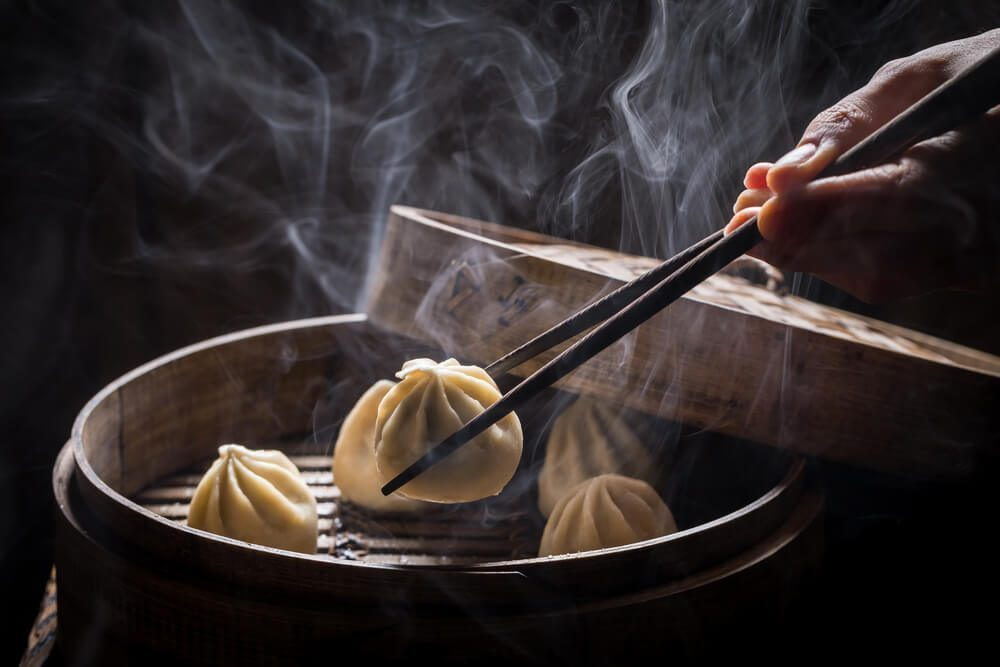 Xiao Long Bao is also a popular Chinese dimsum dish