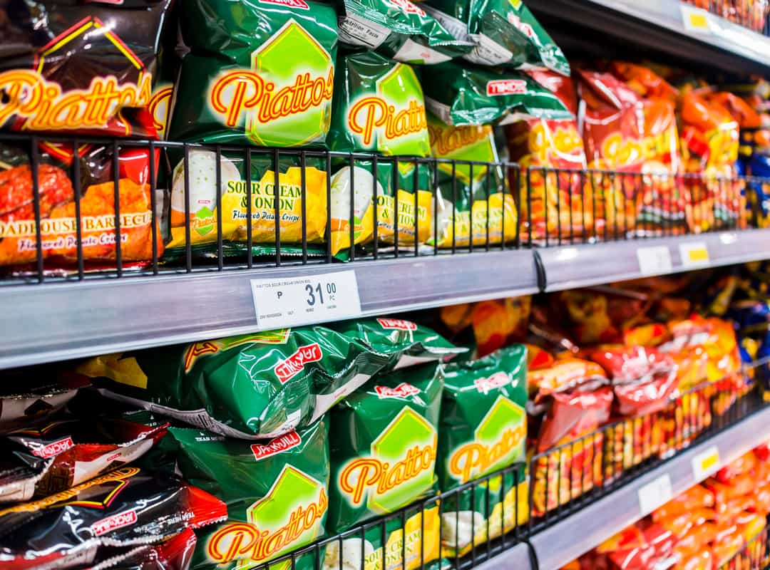 Philippines' Chips and Crackers