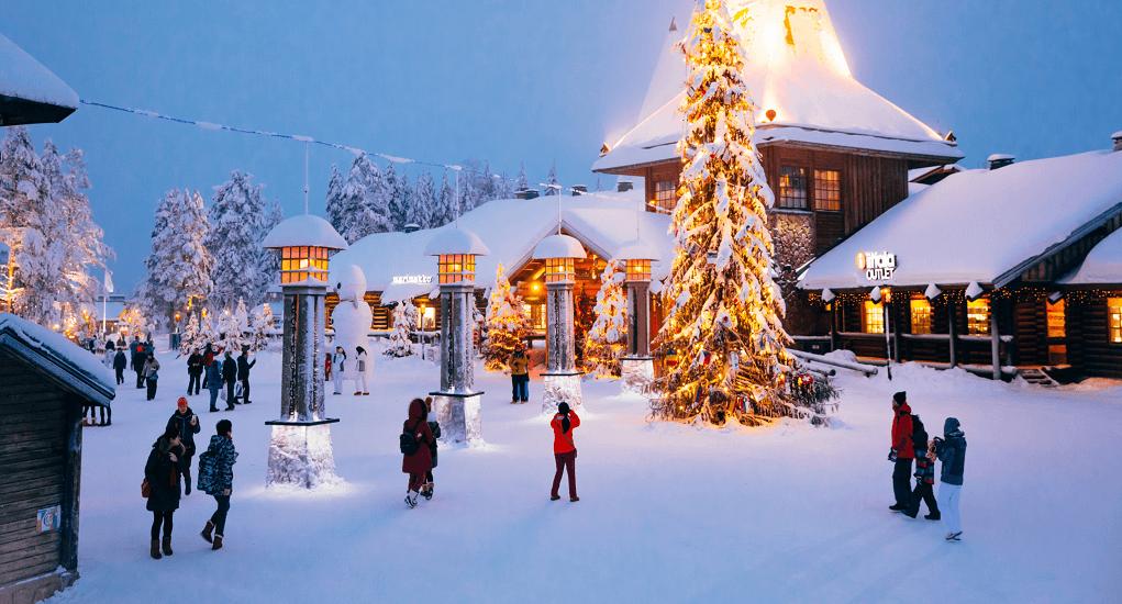 Best Place to Celebrate Christmas - Santa Claus Village, Rovaniemi - Finland
