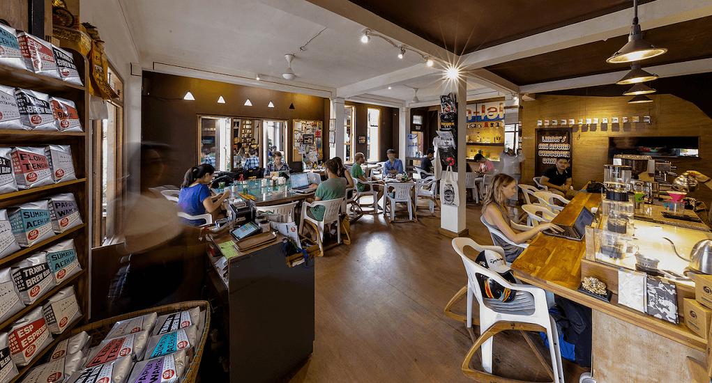 Coffee Shop in Bali - Seniman Coffee Studio