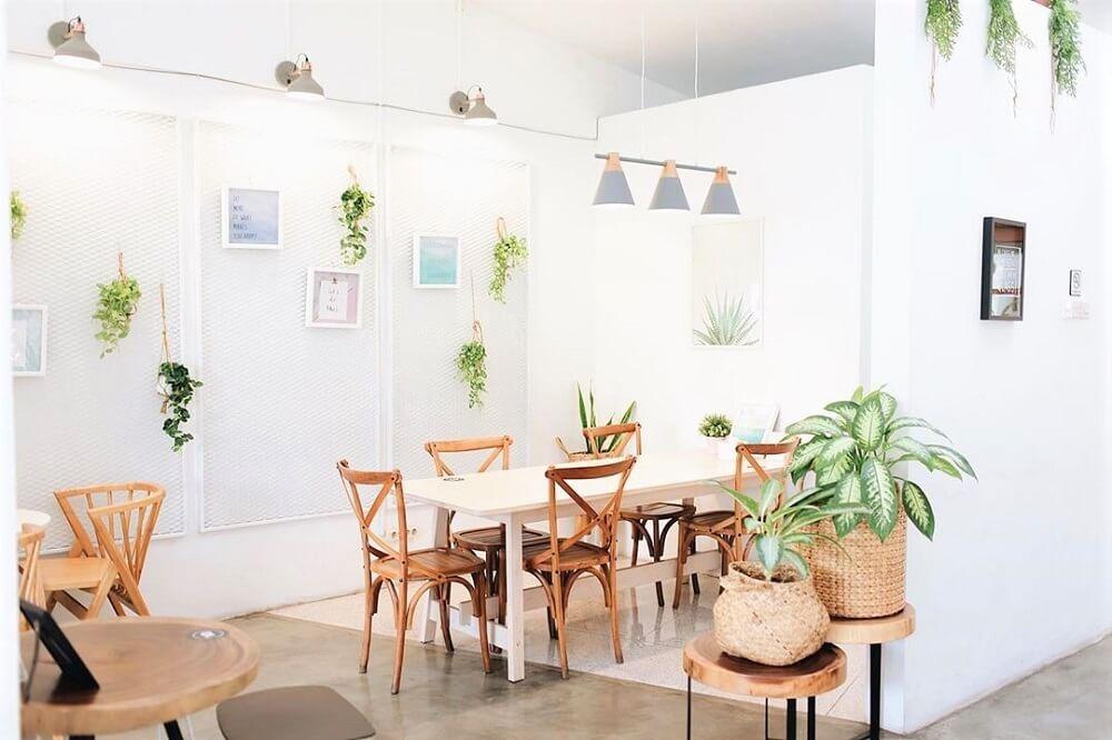 Interior kafe yang menarik dan instagramable