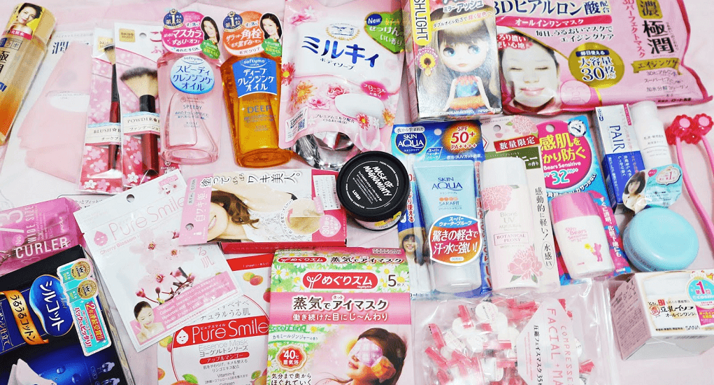 Daiso Harajuku - Mask sheet (cherry blossoms)