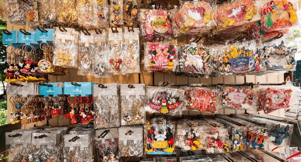 Disneyland Hong Kong - Aneka Gantungan Kunci