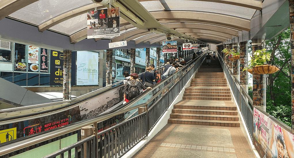 Hong Kong - Central-Mid-Levels