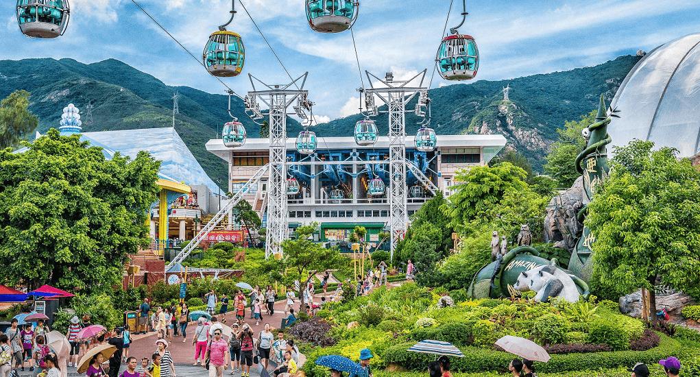 Hong Kong - Hong Kong Ocean Park