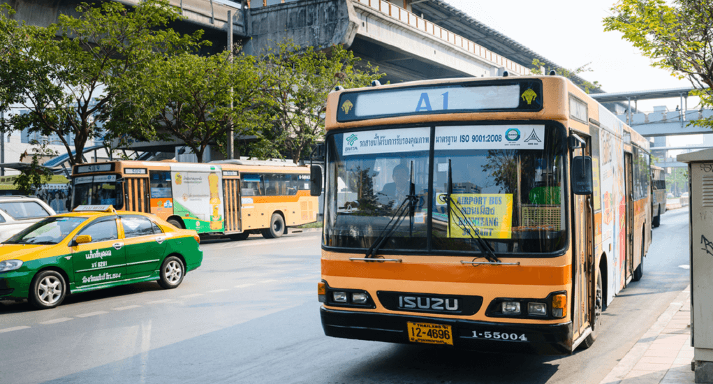Don Mueang airport - Bus Transportation