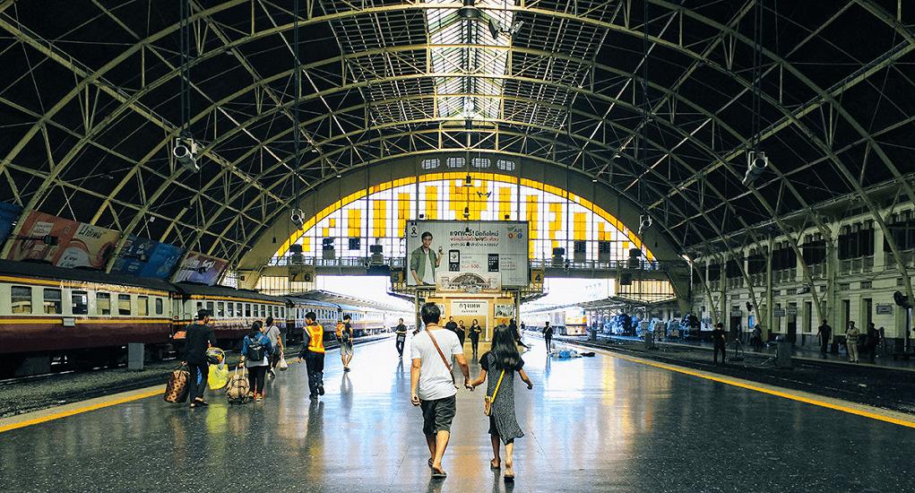 Don Mueang airport - Hua Lamphong Bangkok Railway Station