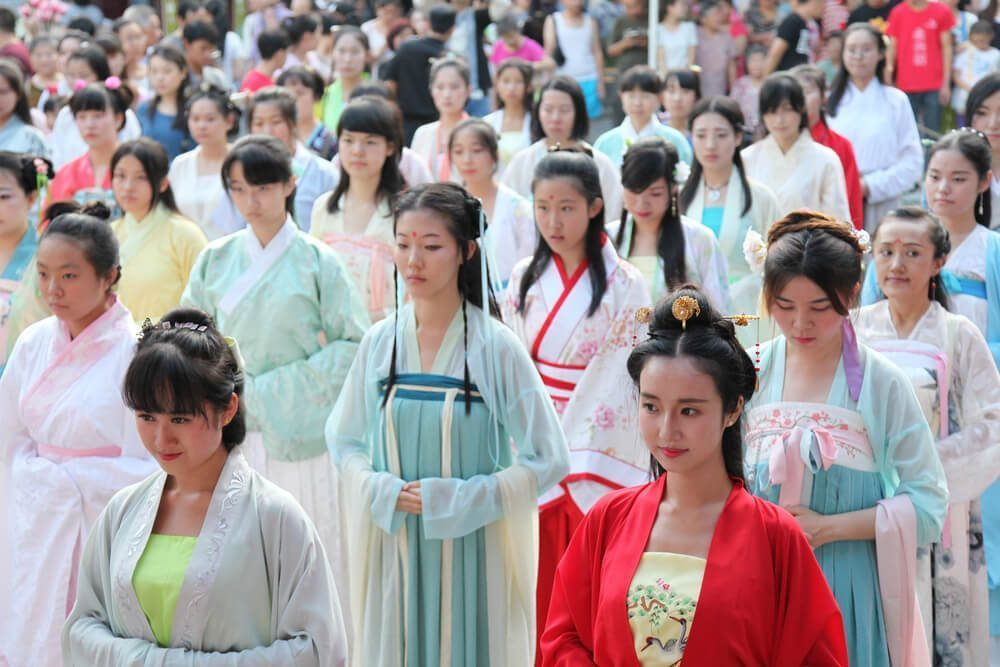 The Double Seventh Festival is also known as the Chinese Valetines Day
