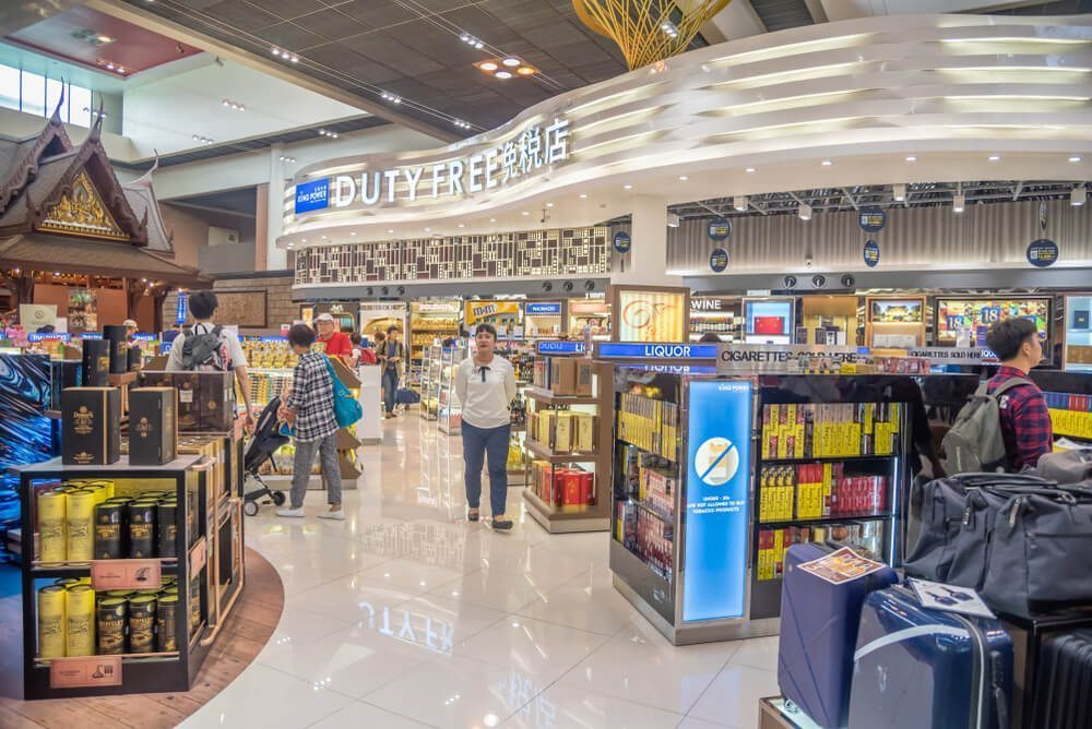 Visit and shop at the Duty Free Shop in Don Mueang Airport