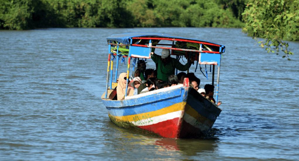 Ekowisata Mangrove - Menggunakan Perahu