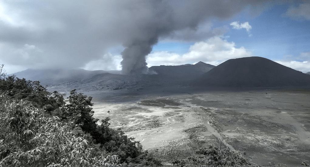 Erupsi Gunung Bromo - dampak erupsi gunung bromo