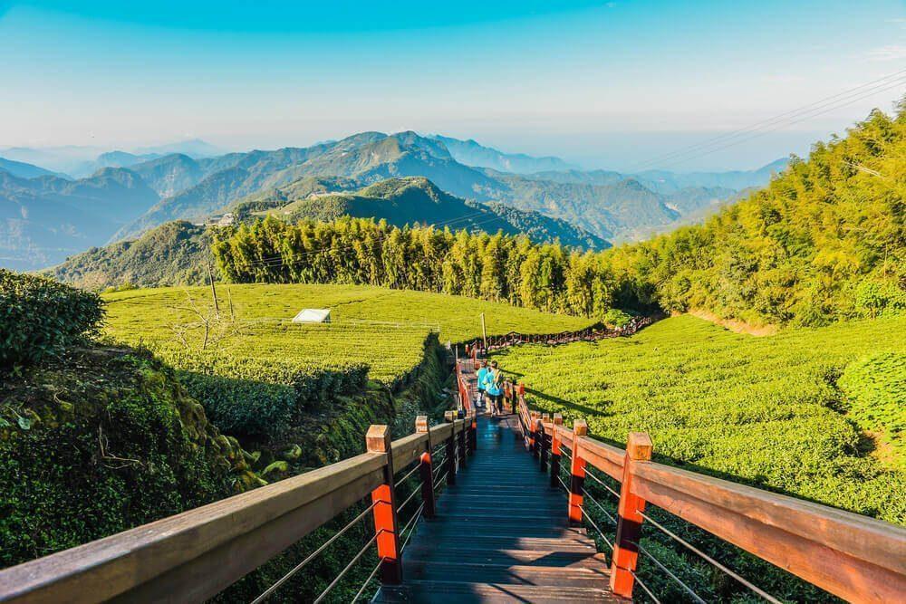 Eryanping Trail di Taiwan