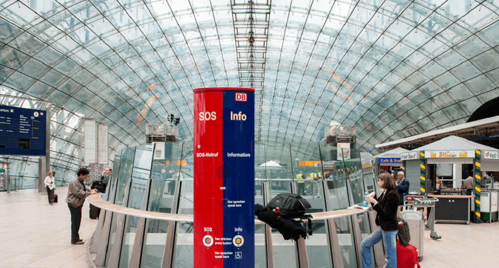 Frankfurt Airport stations