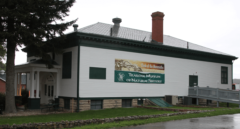 Geological Park - Trailside Museum of Natural History at Fort Robinson State Park