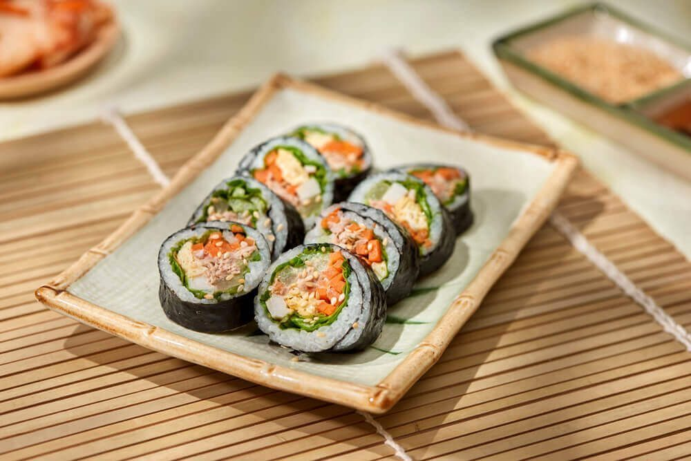 Gimbap (Korean Sushi)