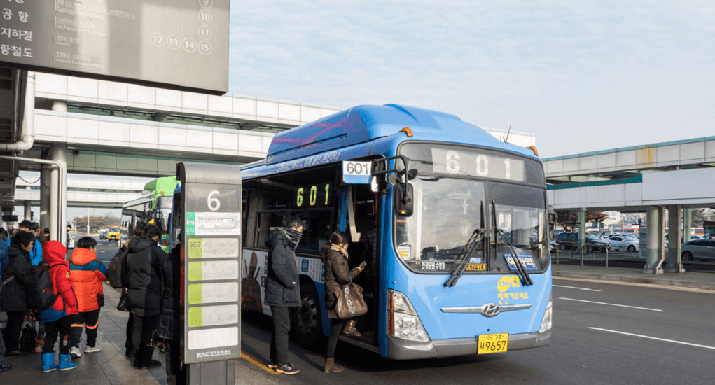 Gimpo Airport - Bus