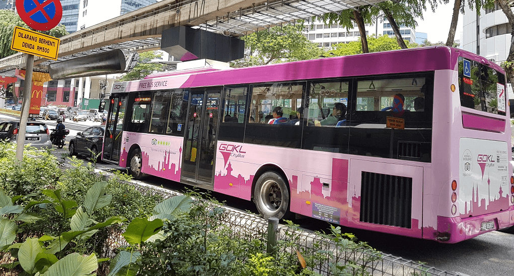 Go KL City Bus - Accessing the Free Bus Service