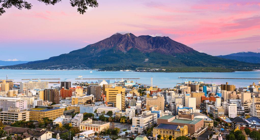 Goa Kagoshima - Pulau Sakurajima
