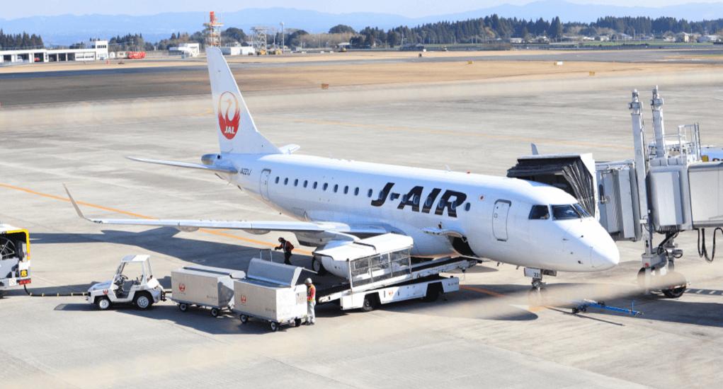 Goa Kagoshima - Transportasi Pesawat