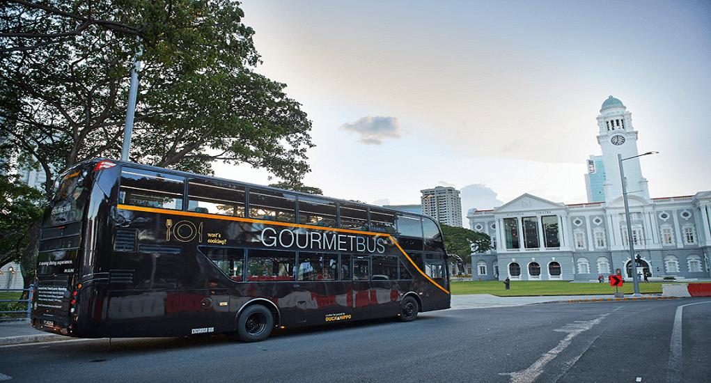 Gourmet Bus - Itinerary dengan Singapore Gourmet Bus