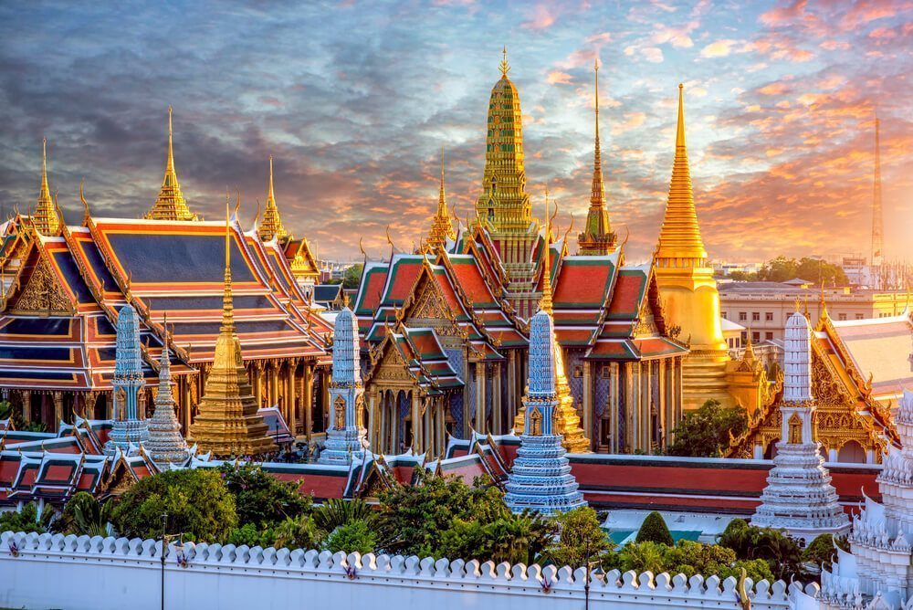 Come to the Grand Palace to learn about Thailand's culture and history