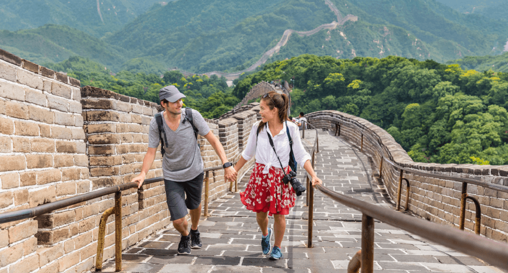 Great Wall of China - Take your partner with