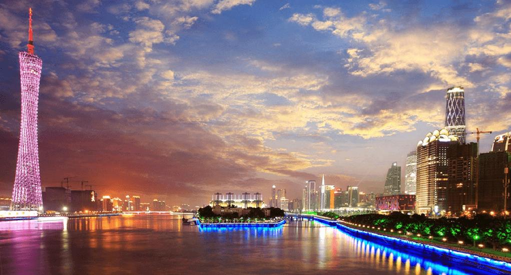 Guangzhou - Berlayar di Pearl River