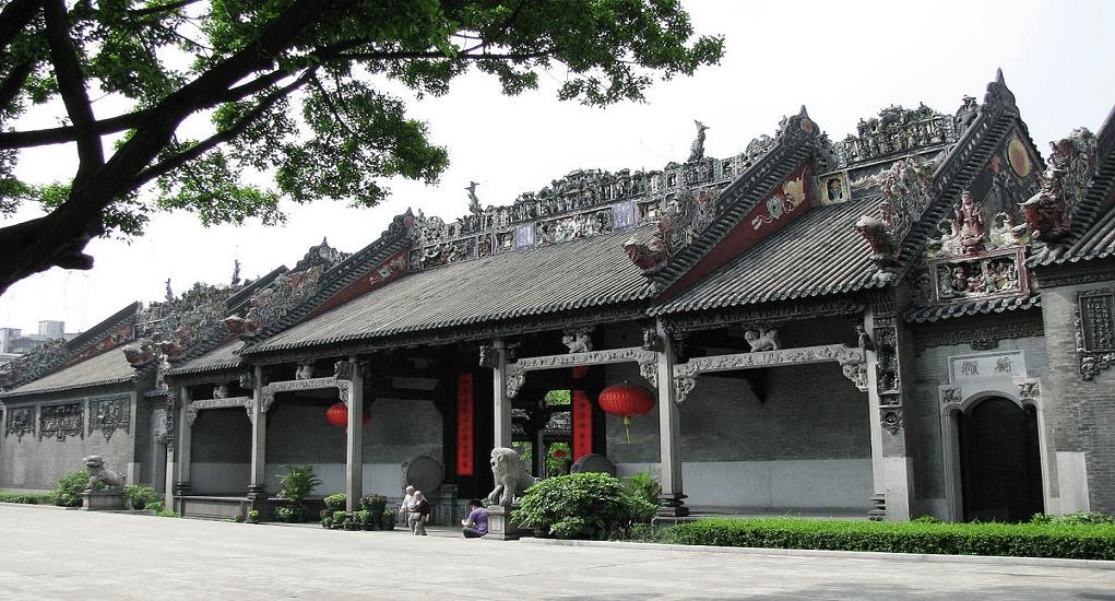 Guangzhou - Kuil Leluhur Keluarga Chen