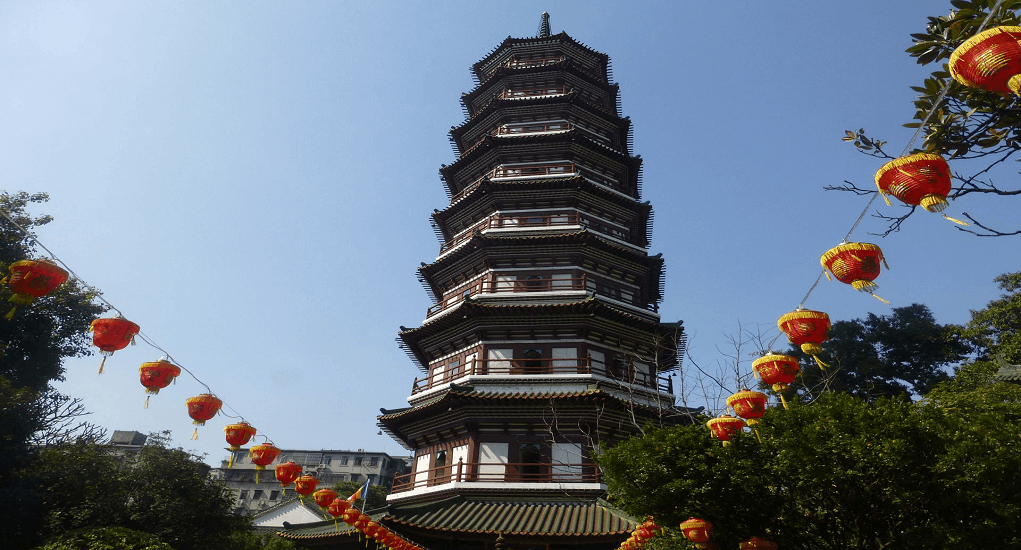 Guangzhou - Temple of Six Banyan Trees