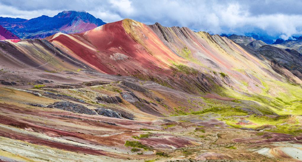 Gunung Pelangi - Cara Menuju ke Gunung Pelangi Peru