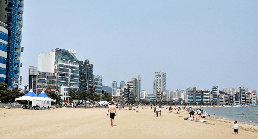 Gwangali beach - Bersantai Bersama Keluarga