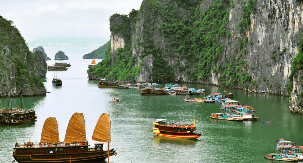 Halong Bay - The Natural Beauty