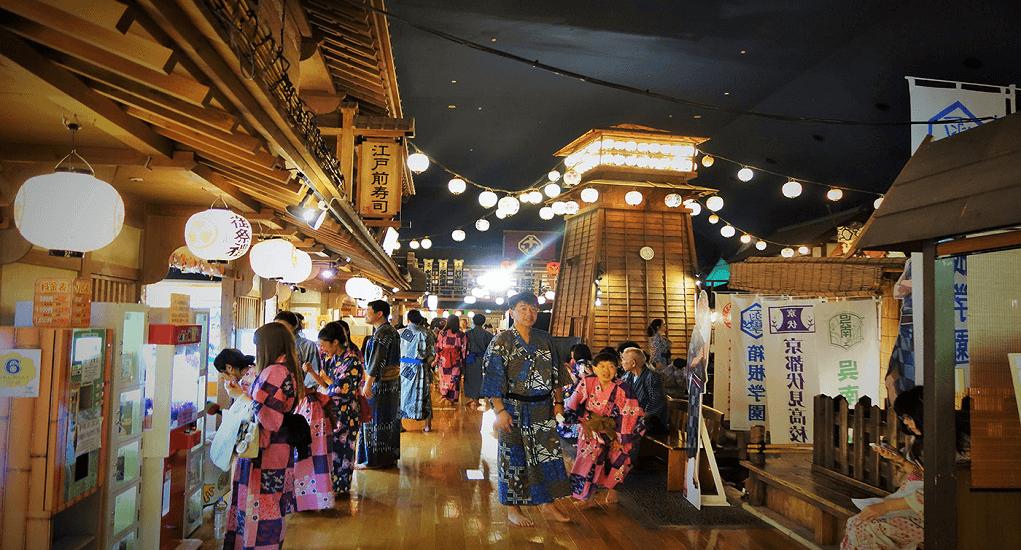 Haneda Airport - Ooedo-Onsen-Monogatari