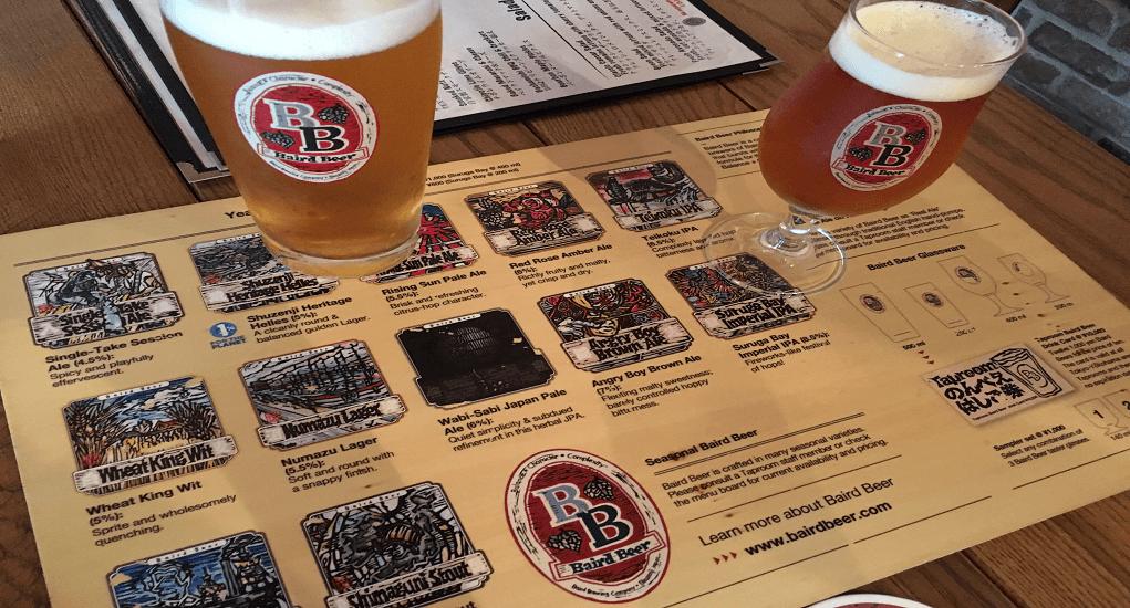 Haneda Airport - Sipping Haneda craft beer
