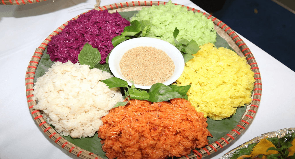 Ho Chi Minh - Colourful glutinous rice