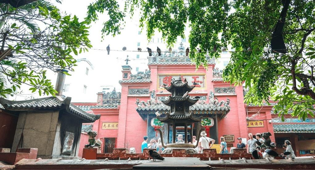 Ho Chi Minh - Emperor Jade Pagoda