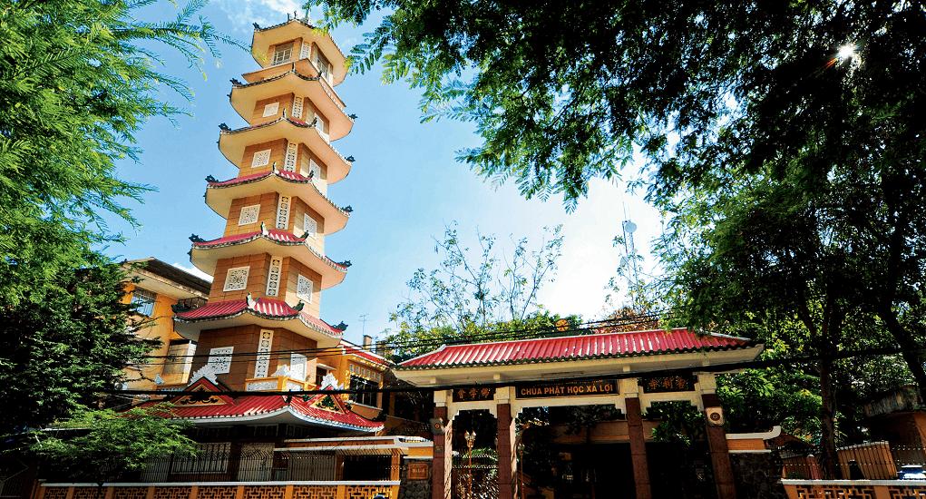 Ho Chi Minh - Xa Loi Pagoda