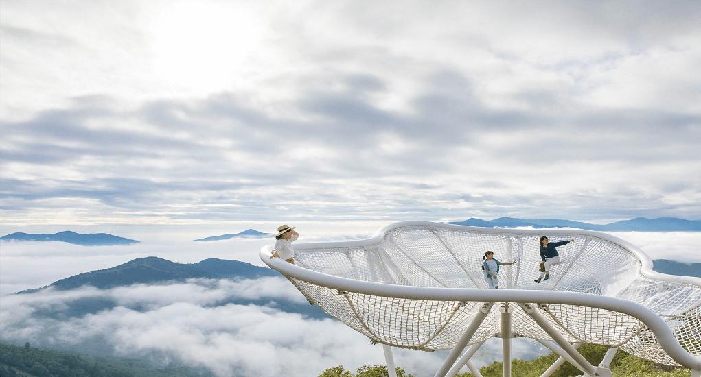 Hokkaido - Unkai Terrace