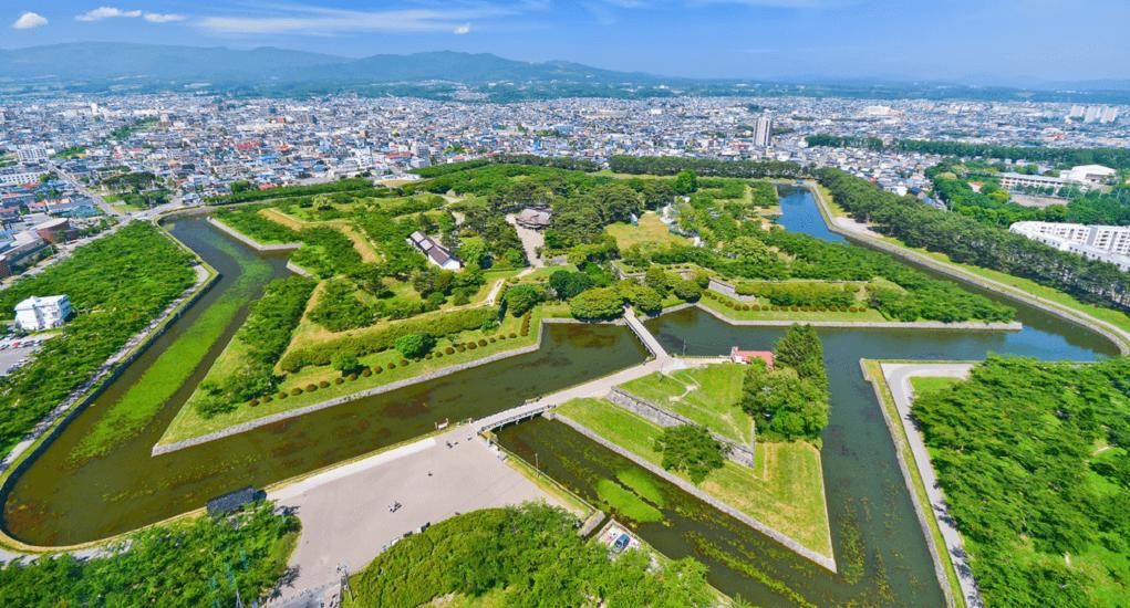 Hokodate - Goryokaku Park