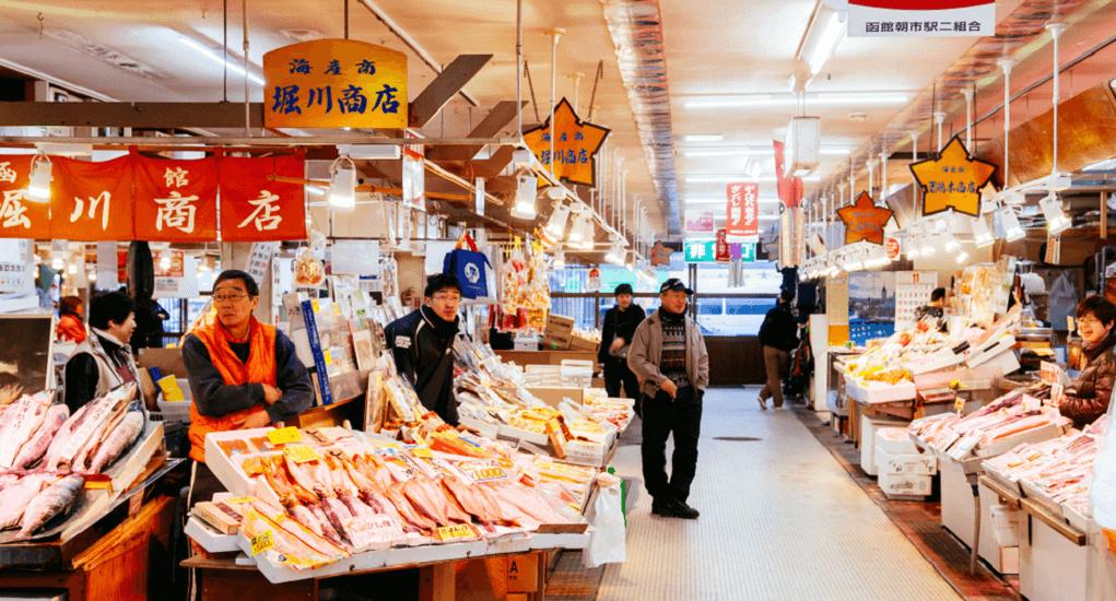 Hokodate - Pasar Seafood Pagi Hakodate