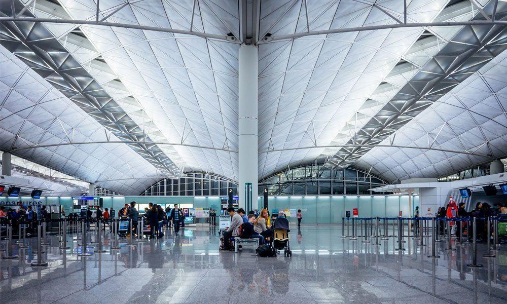 Hong Kong International Airport 1 Interior