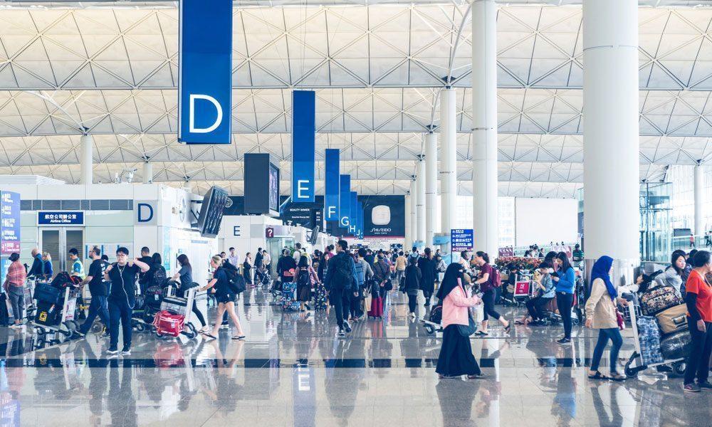 Hong Kong International Airport Terminal 2 Interior
