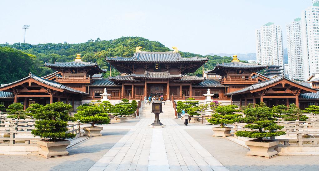 Hong Kong - The Chi Lin Nunnery