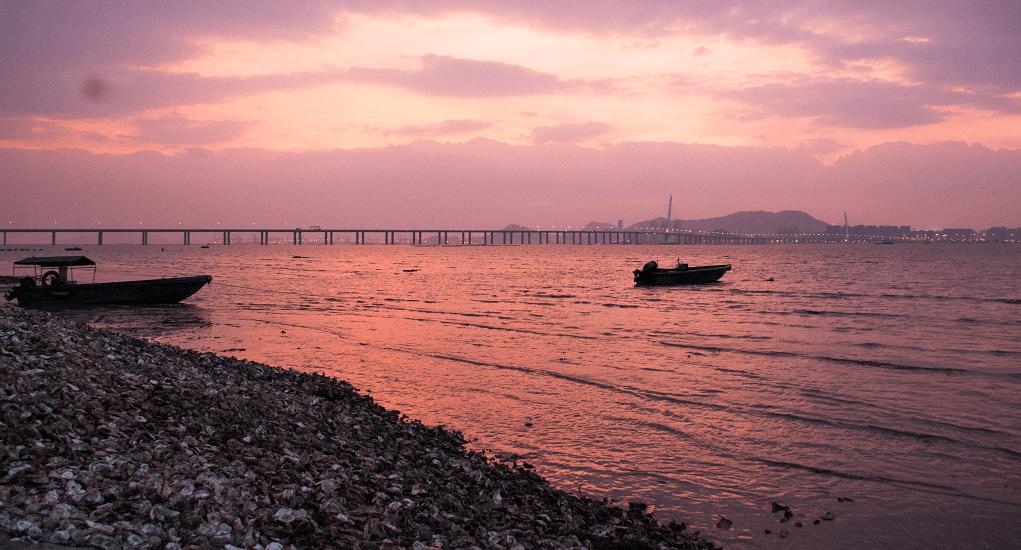 Hongkong - Lau Fau Shan