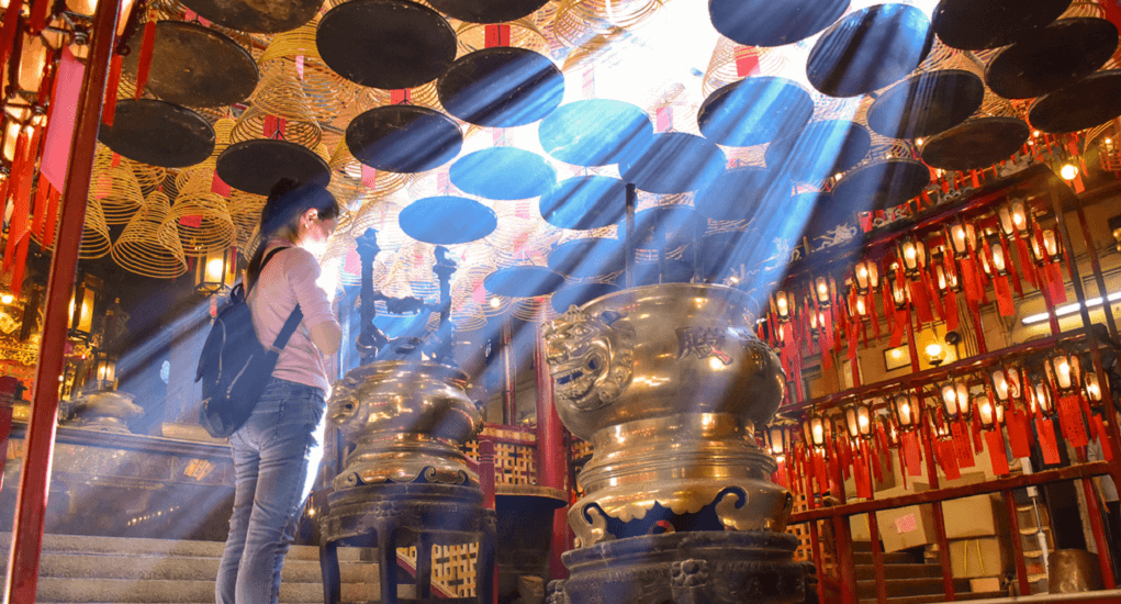 Hongkong - Man Mo Temple